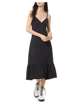 Flounced Midi Slip Dress by Michael Michael Kors