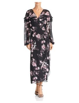Floral Wrap Dress   100 Percents Exclusive by Wayf