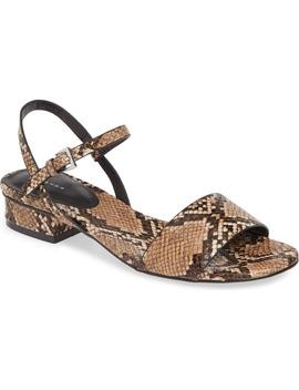 Delta 2 Block Heel Sandal by Topshop
