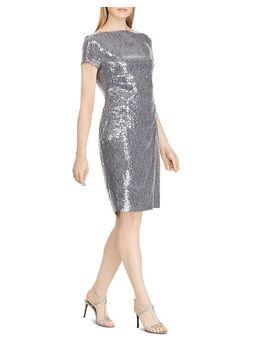 Sequined Cocktail Dress by Lauren Ralph Lauren