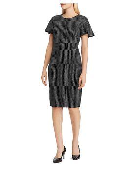 Polka Dot Jacquard Dress by Lauren Ralph Lauren