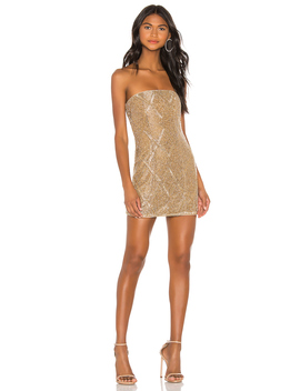 Jean Embellished Mini Dress by X By Nbd