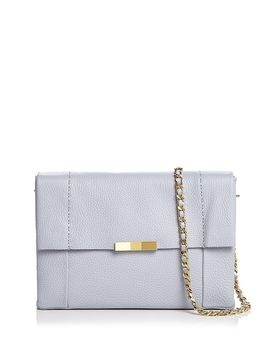 Clarria Bow Detail Leather Crossbody by Ted Baker
