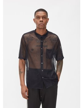 Niels Mesh Short Sleeve Shirt by Cmmn Swdn