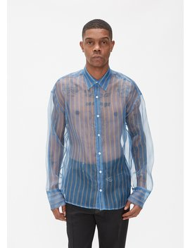 Cecil Digital Print Organza Shirt by Cmmn Swdn