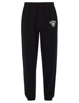 Georgia Crest Print Track Pants by Vetements