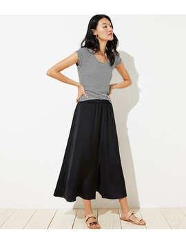 Petite Pull On Maxi Skirt by Loft