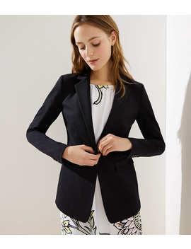 Petite Knit Modern Blazer by Loft
