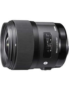 Sigma 35mm F1.4 Art Dg Hsm Lens For Nikon by Sigma