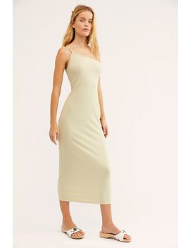 Lunar Ribbed Midi Dress by Free People