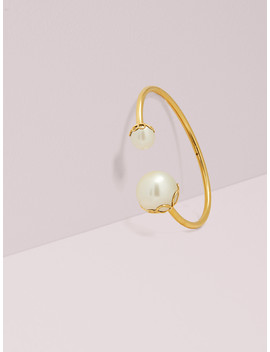 Pearlette Large Wire Cuff by Kate Spade