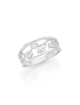 Shoptagr 9ct Gold Two Tone Filigree Elephant Ring By Angus Coote