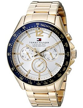 Tommy Hilfiger Men's 1791121 Sophisticated Sport Gold Tone Stainless Steel Watch by Tommy Hilfiger