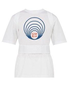 Ashk Harness Cotton Jersey T Shirt by Gmbh