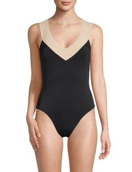 Colorblock One Piece Swimsuit by La Blanca Swim