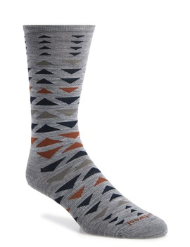 Burgee Geometric Socks by Smartwool