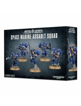 Space Marines   Assault Squad   Free Shipping by Warhammer