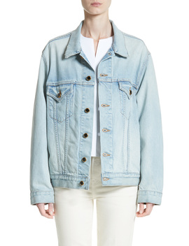 Cate Oversize Denim Jacket by Khaite