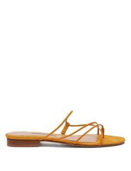 Chris Leather And Suede Sandals by Emme Parsons