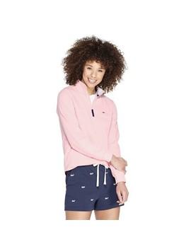 Women's 1/4 Zip Pullover Sweatshirt   Pink   Vineyard Vines® For Target by Pink
