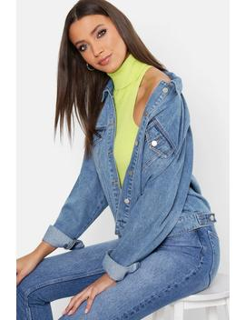 Tall Oversized Denim Jacket by Boohoo