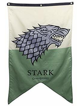 Calhoun Game Of Thrones Stark Banner 30 X 50 In by Calhoun