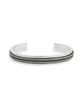 2 Lignes Cuff Bracelet by Saint Laurent