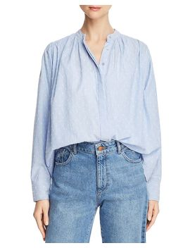 Abidan Embroidered Shirt by Joie