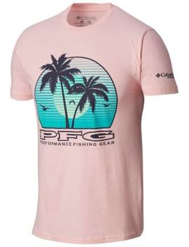 Men's Pfg Vacation Graphic T Shirt by Columbia Sportswear