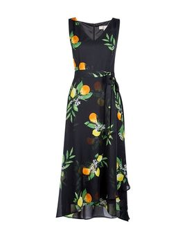 **Billie &Amp; Blossom Petite Black V Neck Floral Print Maxi Dress by Dorothy Perkins