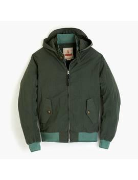 Baracuta® G9 Harrington Jacket With Detachable Hood by Baracuta