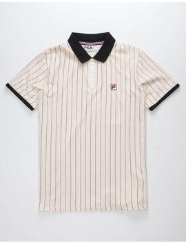 Fila Bb1 Sand Mens Polo Shirt by Fila