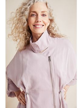 Danuta Cupro Jacket by Anthropologie