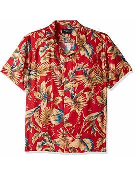 The Kooples Men's Men's Hawaiian Print Short Sleeve Button Down Shirt by The Kooples Men's