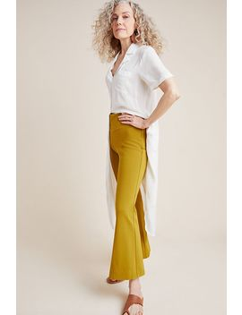 Ponte Flare Pants by Anthropologie