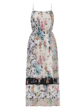 Ninety Six Pleated Slip Dress by Zimmermann
