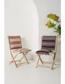 Cheyenne Terai Folding Chair by Anthropologie