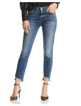 Roxanne Ankle Skinny Jeans In Authentic Medium by 7 For All Mankind