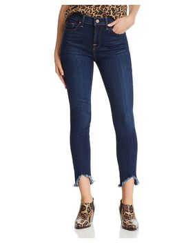 Ankle Skinny Jeans In Serrano Night by 7 For All Mankind