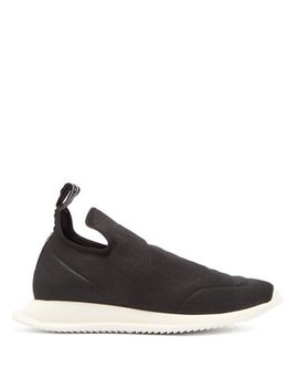 New Runner Cotton Blend Slip On Trainers by Rick Owens Drkshdw