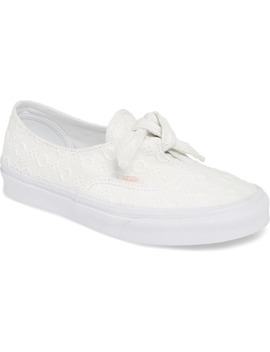 Authentic Knotted Lace Sneaker by Vans