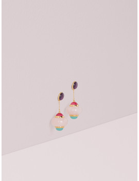 Confection Linear Drop Earrings by Kate Spade