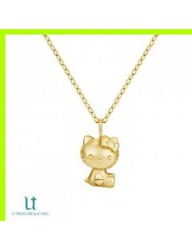Hello Kitty Necklace Collection K18 Yellow Gold Japan U Treasure By K.Uno by K.Uno