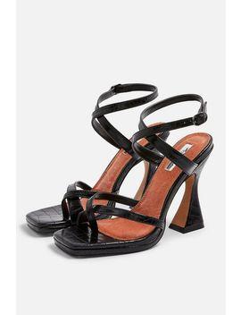 Rock Sculpt Heel Sandals by Topshop