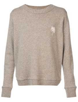 Palm Tree Sweater by The Elder Statesman
