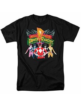 Power Rangers Unite T Shirt & Stickers by Popfunk