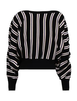 Ruffle Trimmed Intarsia Knit Sweater by 3.1 Phillip Lim