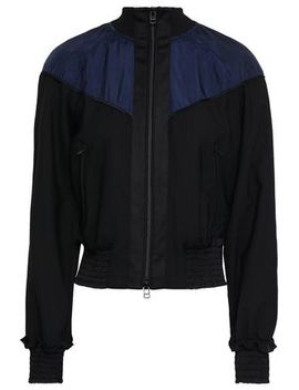 Paneled Shell And Wool Blend Jacket by 3.1 Phillip Lim