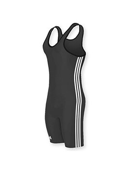 Adidas Wrestling 3 Stripes Singlet by Adidas
