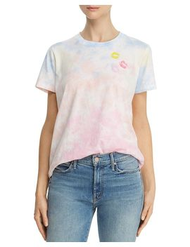 Lips Tie Dye Tee   100% Exclusive by Lauren Moshi X Aqua